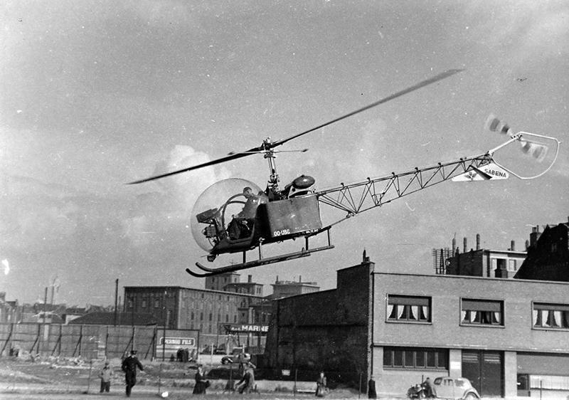 Histoire porte de ninove for Porte helicoptere